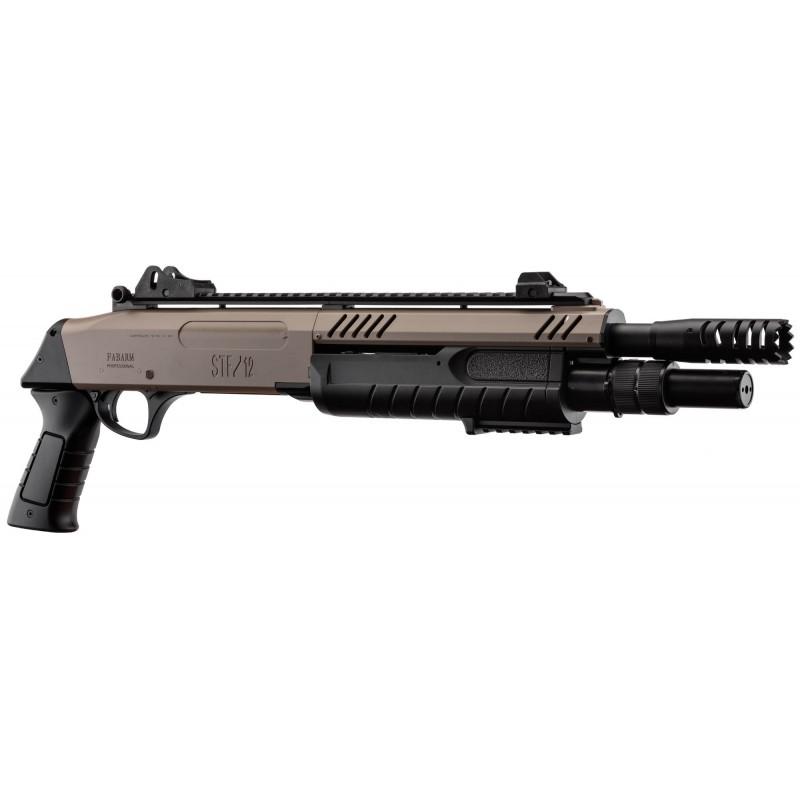 Escopeta FABARM STF/12-11 SHORT ressort 3 shots fde 0,8j - BO MANUFACTURE