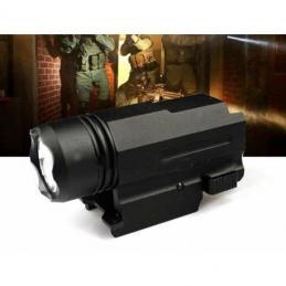 Linterna tactica Flash HG-088 programable con 2 modos