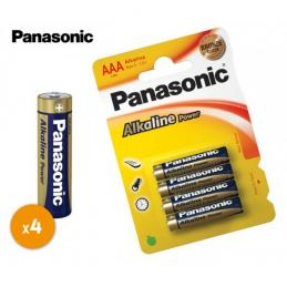 Pilas Panasonic AA 4 Unidades