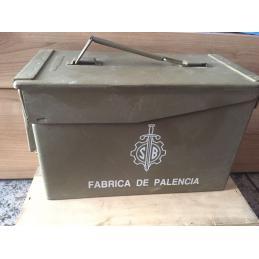Caja de Munición Metalica Fabrica de Palencia