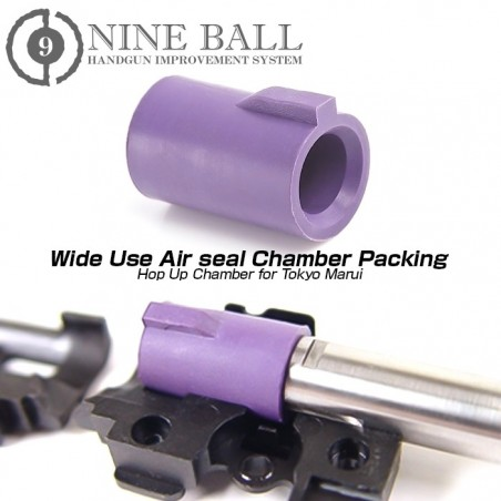 Goma Hop NINE BALL Lila para VSR-10/Glock17/18/Hi Capa