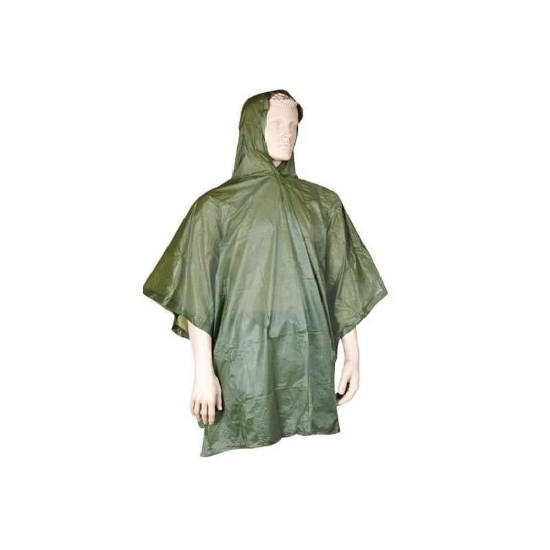 Poncho Verde Militar PVC
