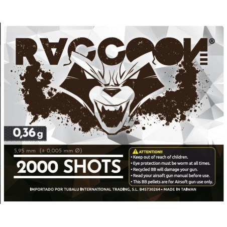Bolas RACCOON 0.36g 2000rd DMR