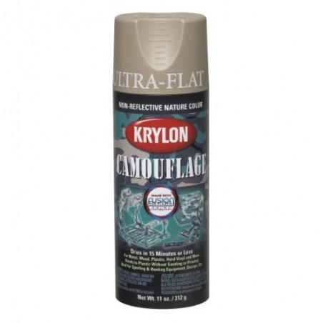 KRYLON Camouflage Paint with Fusion Technology (Khaki)