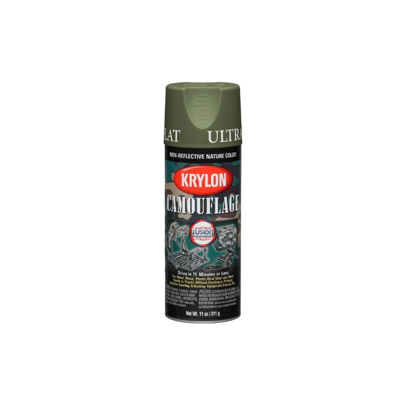 KRYLON Camouflage Paint with Fusion Technology Olive