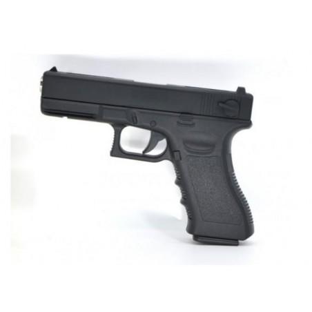 Pistola Glock18 Muelle Corredera Metalica
