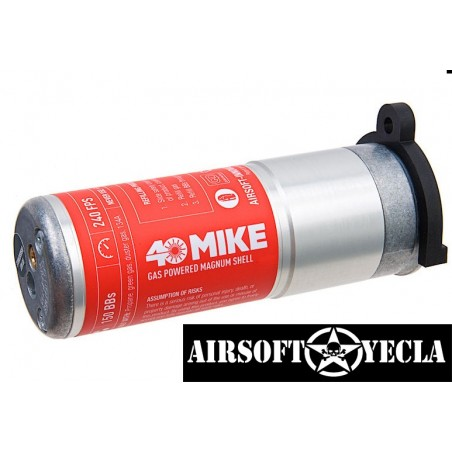 40 Mike Airsoft Innovation Gas Powered Magnum Shell