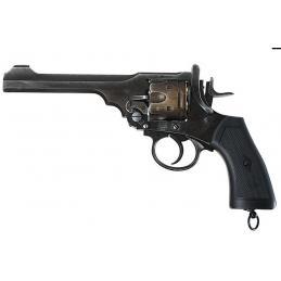 Gun Heaven (Win Gun) Webley MK VI 6mm Co2 Revolver - Versión resistida