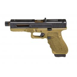 PREORDER -PISTOLA GAS Y CO2 GLADIUS 17 BRONZE CUSTOM SECUTOR