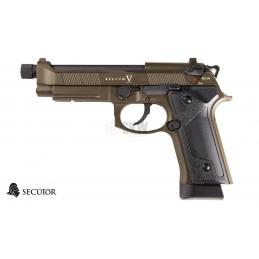 PISTOLA GAS Y CO2 BELLUM V BRONZE SECUTOR