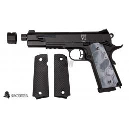 PISTOLA GAS Y CO2 RUDIS CUSTOM VI TYPHON SECUTOR