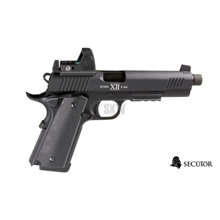 PISTOLA GAS Y CO2 RUDIS MAGNA XII SECUTOR