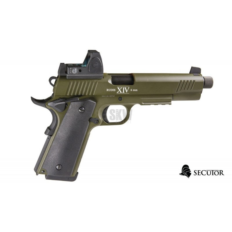 PISTOLA GAS Y CO2 RUDIS MAGNA XIV SECUTOR