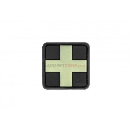 Parche Cruz Medico Glow in the Dark 25mm JTG