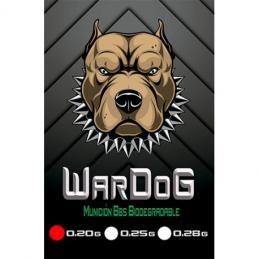 Bolas WarDog BBs 0.20g 1kg Bio