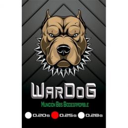 Bolas WarDog BBs 0.25g 1kg Bio