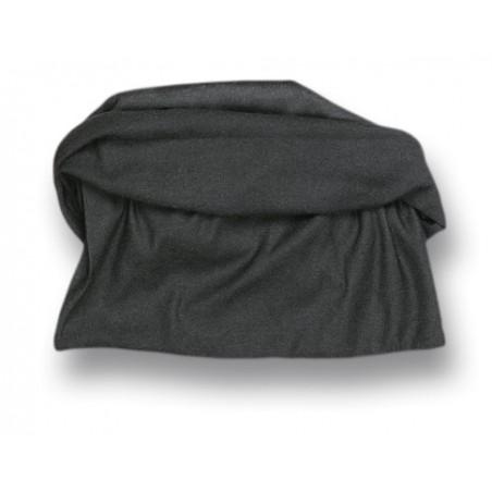 Braga fina negra. 100% nylon sin costura