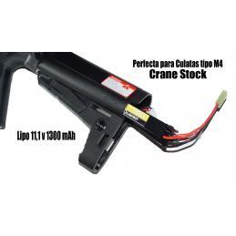 Bateria 11,1V Lipo 30C 1300mAh 3 Celdas
