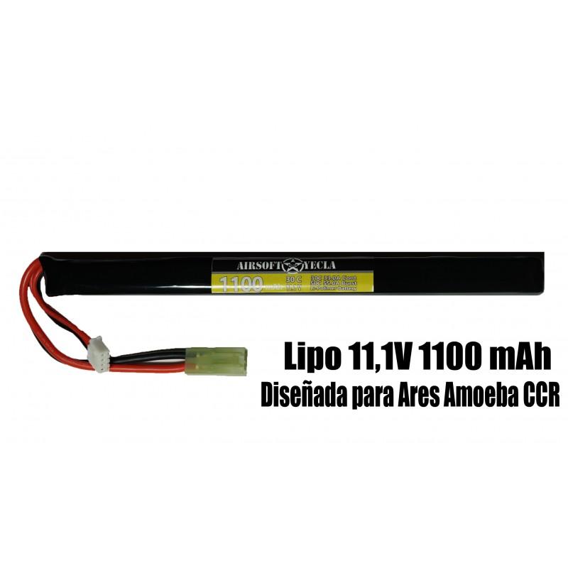 Bateria para CCR 11,1V 1100Mah 30C