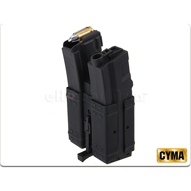 MP5 250 bbs Cargador HI-CAP Dual  CYMA