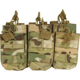 Duo Mag Pouch - Treble Multicam Viper