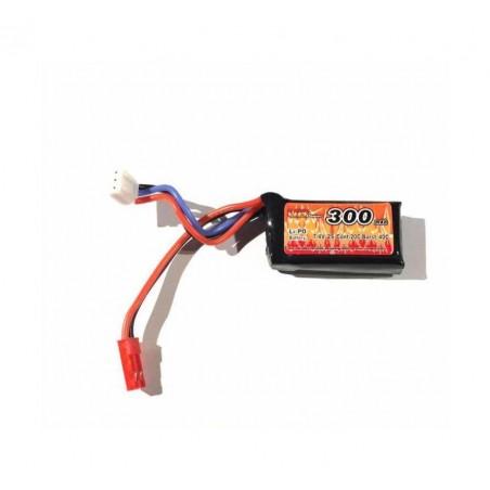 Lipo 7.4V 300mAh 35C / 70C para HPA FCU