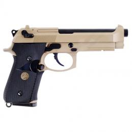 PISTOLA GAS M9A1 TAN  WE