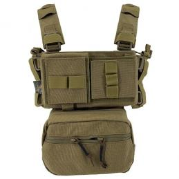 CONQUER Mini CHEST RIG TAN