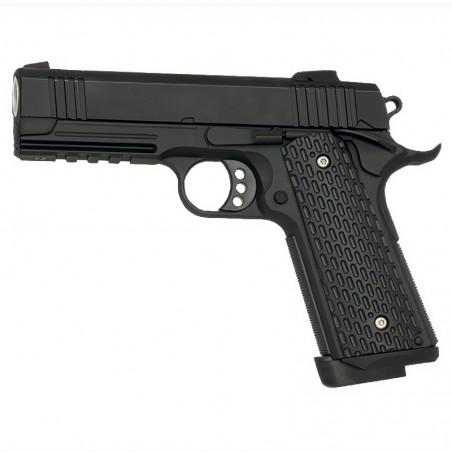 Pistola Gas 1911 Blow Back RIS Golden Eagle color negro