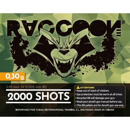 Bolas RACCOON 0.30g 2000rd DMR