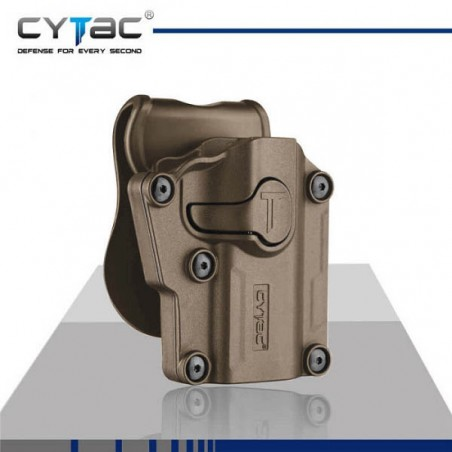 CYTAC Mega-Fit Pistolera Universal Adaptable TAN