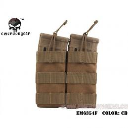 Pouch doble M4 Emerson COYOTE