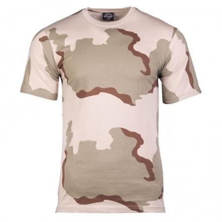 Camiseta Manga corta Mil-Tec desert 3 colores