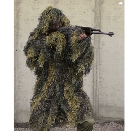 Mil-Tec ghillie boscoso parka