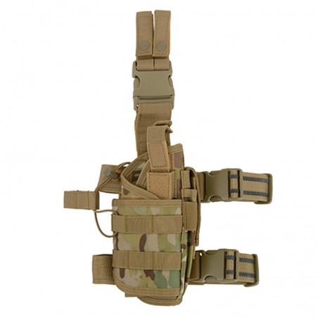 Pistolera táctica Universal tipo tornado Multicam para zurdos