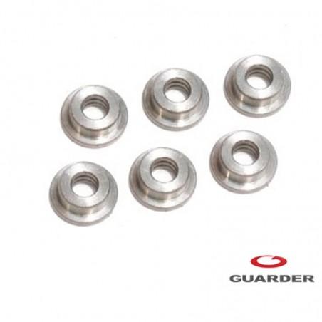 Casquillos metálicos de 6mm Guarder
