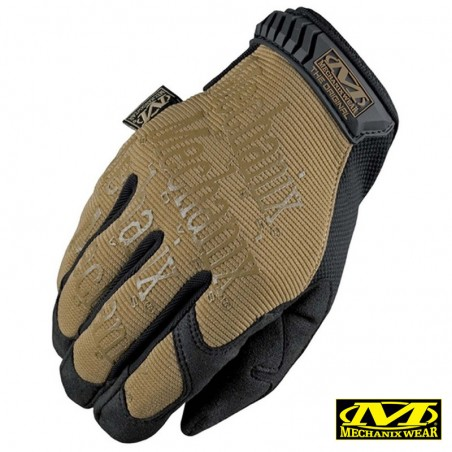 Mechanix guantes original coyote-negro