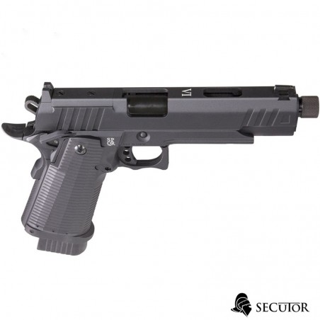 PISTOLA CO2 LUDUS VI BLACK SECUTOR BLOW BACK