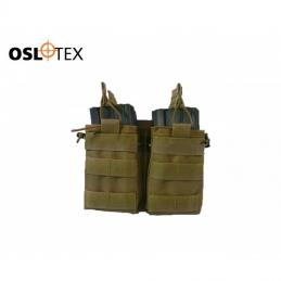 Oslotex Pounch portacargador Triple Kanguro m4 COYOTE